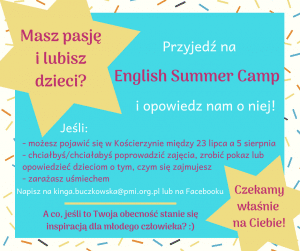 English Summer Camp 2018