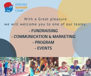 English Summer Camp 2016 – planning workshop