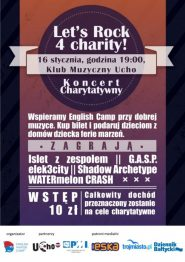 Koncert Let's Rock 4 Charity!