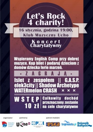 Let's Rock 4 Charity! starts next week!